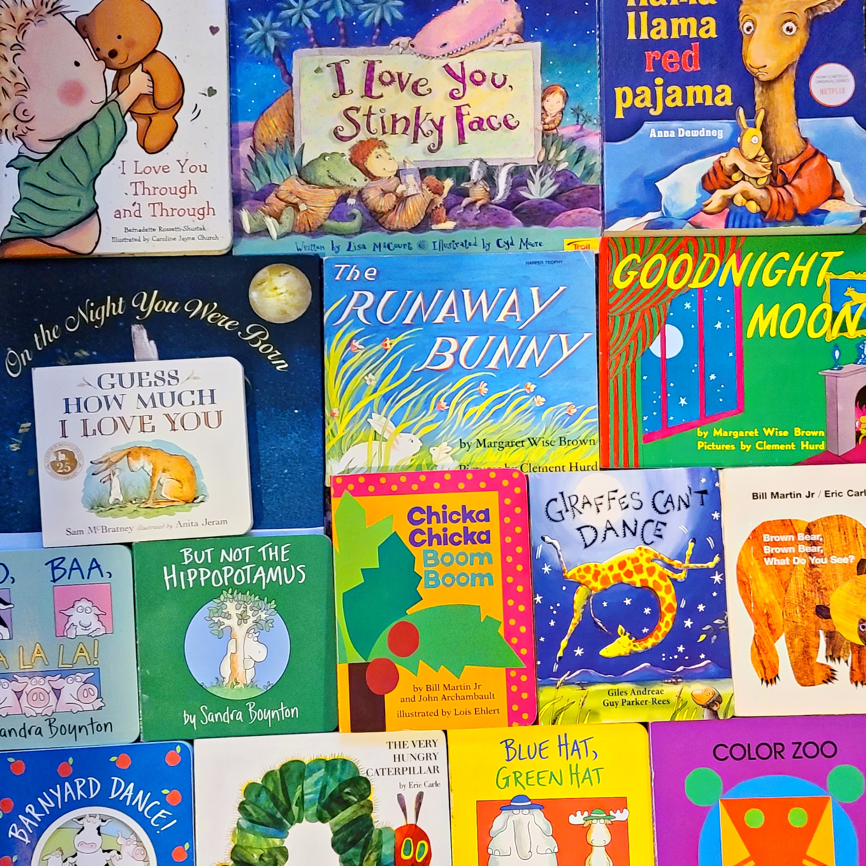 20+ Board Book Classics for Babies (0-12 Months)